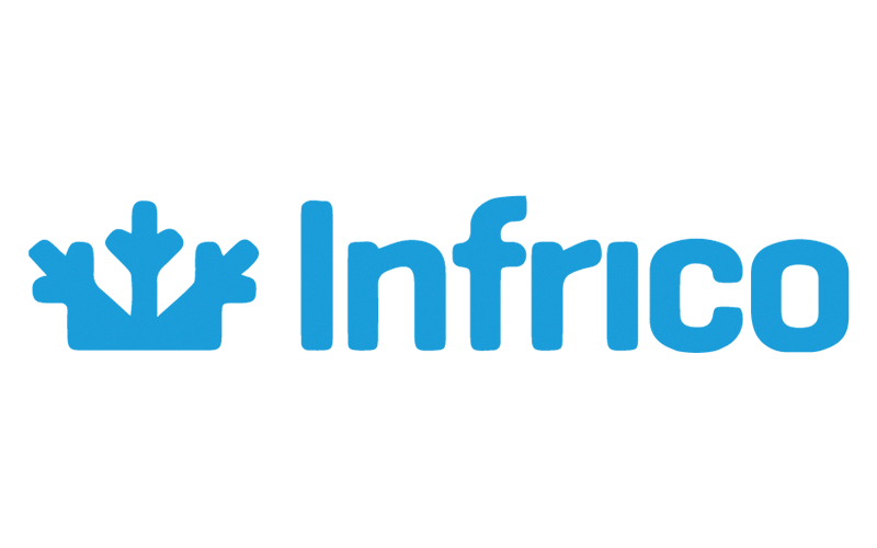 Logo société infrico