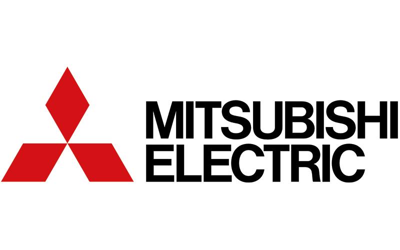 Logo société mitsubishi